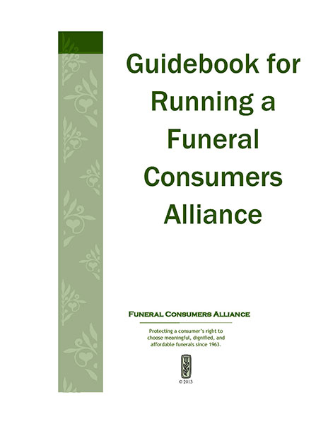 Guidebook for running a funeral consumers alliance